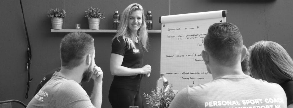 balans tussen werk en privé. mifit personal training studio Delft.
